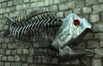 Wall Fish by H-o-t-G-o-d