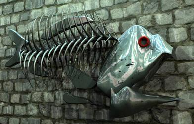 Wall Fish by H-o-t-G-o-d