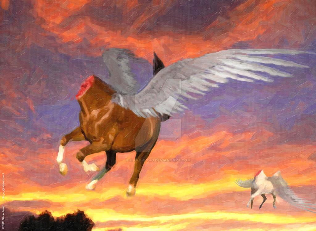 Headless Pegasuses by H-o-t-G-o-d