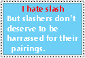 A statment about slashers by Ghost-Peacock