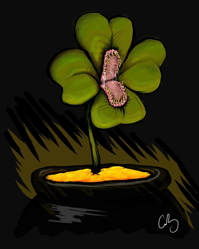 Four Leaf Trap by chrisbonney