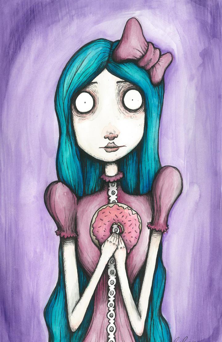 Donut Panic by chrisbonney