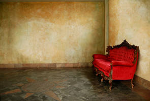the red couch by chrisbonney