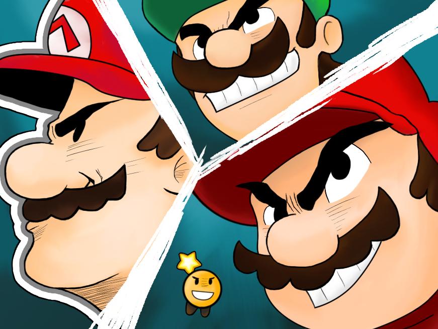 Mario And Luigi Paper Jam Parody By Drail72 On Deviantart
