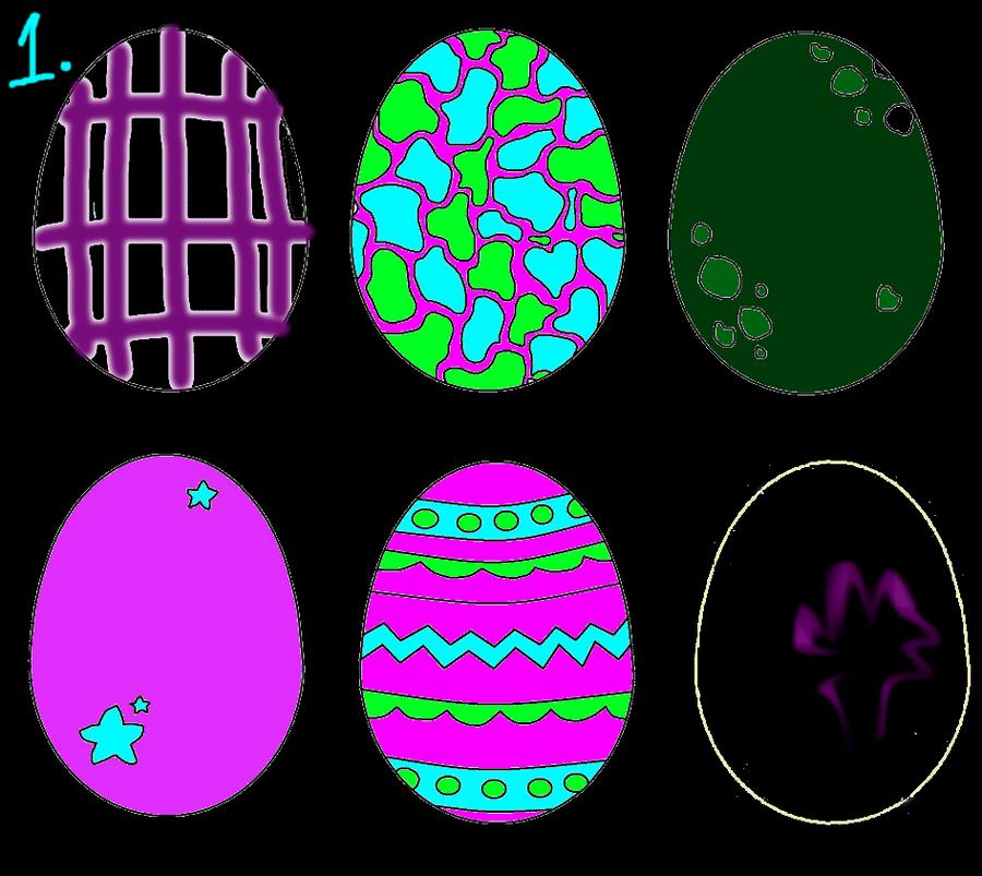 how to make egg art