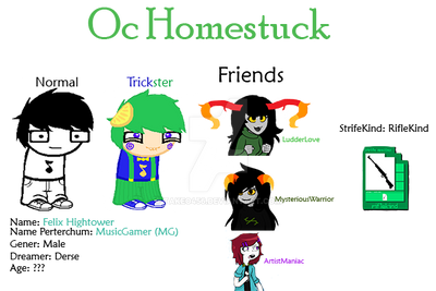 My Oc Mejorated Homestuck by Takeo456