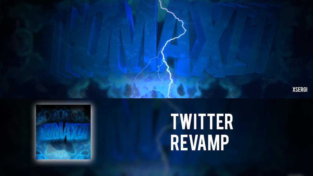 Twitter revamp for Thomaxi11 by xSergi