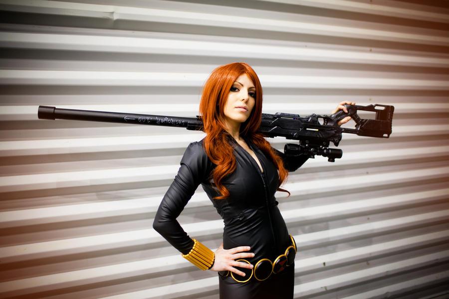 Black Widow I by Vera-Chimera
