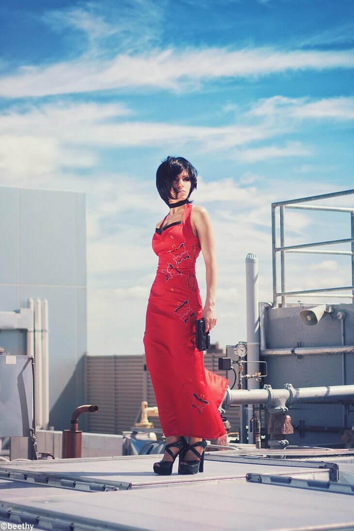 Ada Wong- Resident Evil V by Vera-Chimera