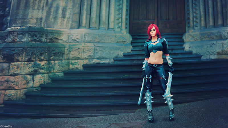 League of Legends- Katarina by Vera-Chimera