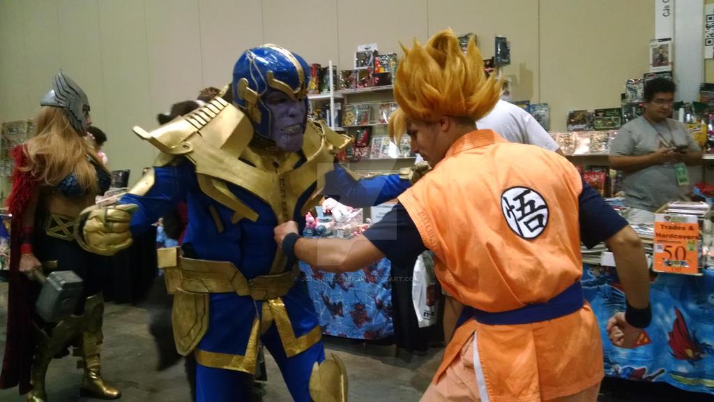 Goku Vs Thanos: Goku Vs Thanos By Johnabelcher On DeviantArt