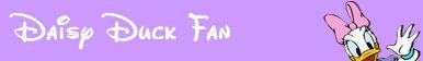 Daisy Duck Fan Button