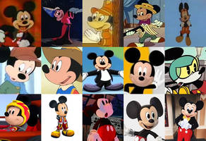 Hero of the Month - Mickey Mouse by polskienagrania1990