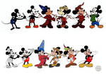 Mickey Mouse Evolution