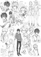 [PR] Horrible mess (Sketch dump) by Shikaama