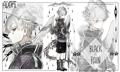 [Adopt] Noctavis auction - Black Rain [Pending] by Shikaama