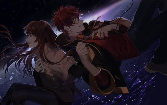 [Fanart] Above the horizon