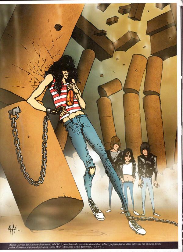 Biblia Shock The Ramones... by kathrine1494