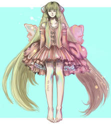 chobits - Chii_ fan art