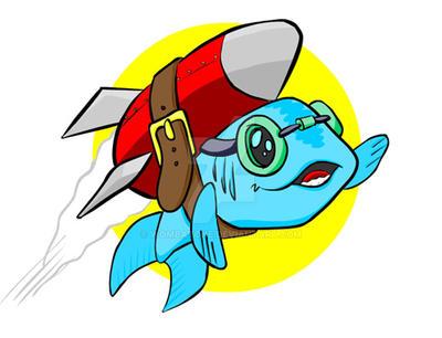 Rocket Fish Redux by WombatOne