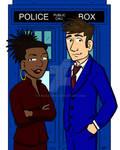 The Doctor and Martha Jones