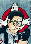 Ghostbusters Sketch Card Egon