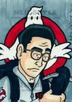Ghostbusters Sketch Card Egon