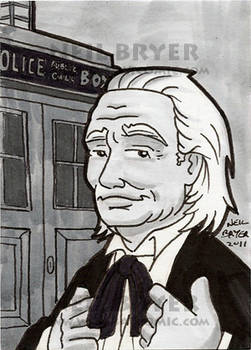 Doctor Who Sketch Cards 1