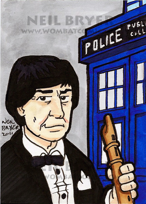 Doctor Who Sketch Cards 2 by WombatOne