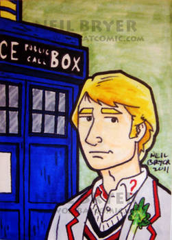 Doctor Who Sketch Cards 5