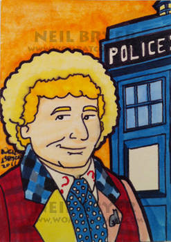 Doctor Who Sketch Cards 6