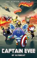 Captain Evee of Marvel Babies by elyoncat