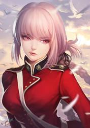 Fate Grand Order Nightingale by elyoncat