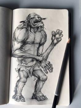 Goblin desing - sketchbook