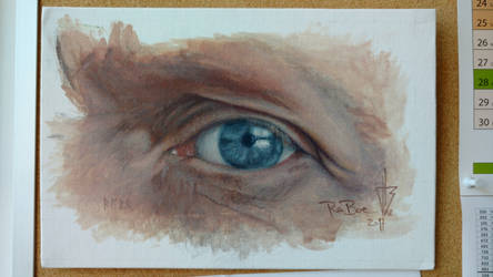 Eye study (1) by raboeart
