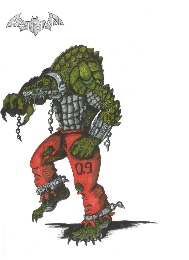 Killer croc by Hellraptor by All-Crazy-Reptiles