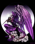 Purple dragoness