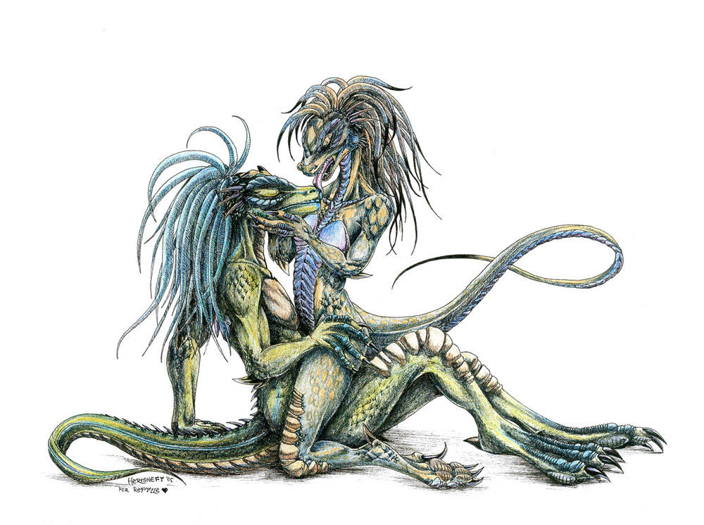 Lizard kiss... by All-Crazy-Reptiles on DeviantArt