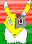 Renamon Exterminador (MODO ACTIVA) by DigitalUltraLite