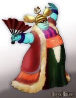 Queen Brahne FF9 by Enkida