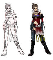 FFX2 Paine Gunner Outfit by Enkida