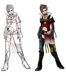FFX2 Paine Gunner Outfit