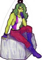 She Hulk for the Vivianmobile by Enkida