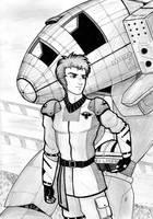 Battletech - Commander Belmont by Enkida