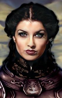 Baldur's Gate Female Portrait