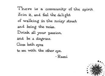 Rumi by Enkida