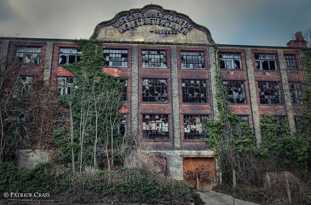 abandoned textil factory by VonWegen77
