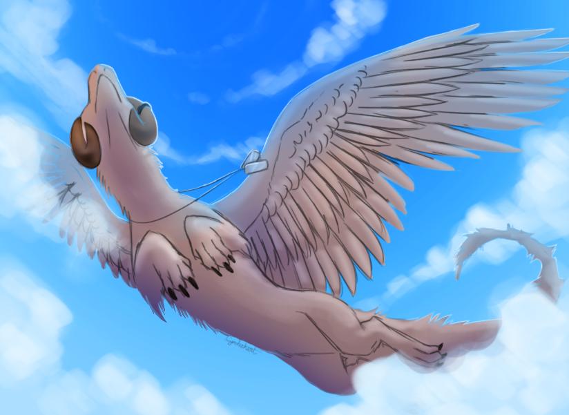 Gliding by Cynderheart