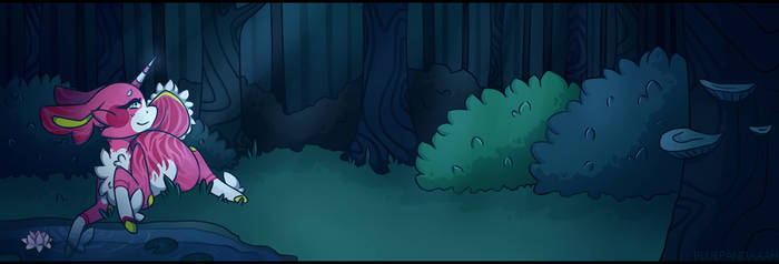 [ Tamashi Tails ] A Forest full of Secrets by BluePandaaah