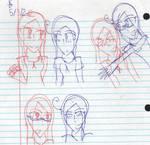 Me and Giu Sketches